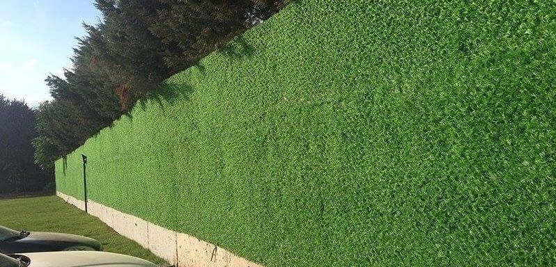 grass fence 20